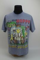 Vintage 1995 Signal Sports Mr Happy Home Owner Gray T shirt Size Large