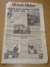 MELODY MAKER 1954 APRIL 24 WOODY HERMAN GERALDO WRIGLEYS ERIC DELANEY +