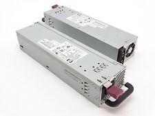 Lot of 2 HP DL380 ESP135 Hot-Swap 575W Power Supply 321632-001 DPS-600PB B OEM