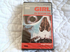 GIRL IN ROOM 2A VHS PRISM CLAMSHELL 70'S CULT SLEAZE GIALLO HORROR SEXPLOITATION