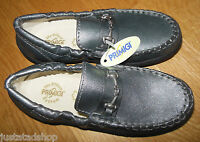 Primigi girl shoes silver leather loafers 11-11.5 UK, 30 EU New BN