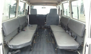 landcruiser 3rd row seats, 11 seat troop carrier