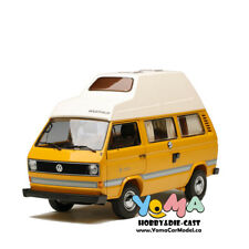 Schuco 1/18 Volkswagen VW T3 Joker camper with high roof yellow 450038500