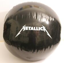 "METALLICA  NEW!!!  48"" black beach ball - IT'S HUGE!!!"
