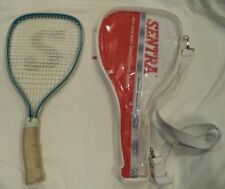 Vintage Sentra Nightstalker Iii Racquetball Racquet w/ curved handle and Case