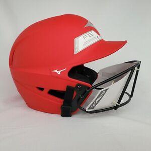 Mizuno F6 Youth Fastpitch Softball Batting Helmet with Mask