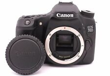 Canon EOS 70D 20.2MP Digital SLR Camera - Black (Body Only) - Shutter Count: 758