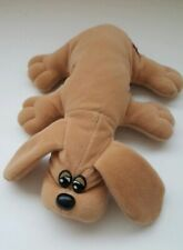 """Tonka POUND PUPPY 8"""" Mini Light Brown Plush (1985) Vintage"""
