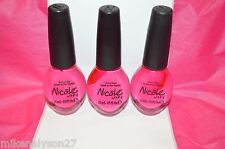 3 OPI O.P.I Nail Polish Lacquer ALL KENDALL-ED UP NI K03 NICOLE