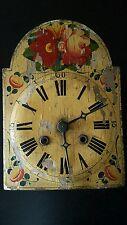 Mouvement Pendule Forêt Noire Swartzwalduhr 1860 18ème jus de grenier