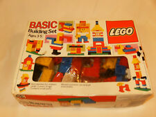 NIB Vintage Lego Basic Building Set #317 66 Piece Set With Box, Catalog-Unopened
