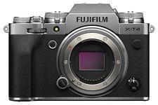 Fujifilm X-T4 26.1 MP Mirrorless Camera - Silver (Body Only)