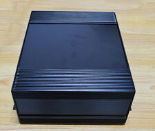 1pcs black Electrical Instruments Aluminum Box with ears 230*180*90mm DIY