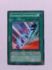 Carte Yu Gi Oh Distorsion Dimensionnelle IOC-FR044