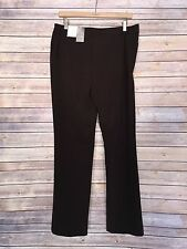 NWT CHICO'S Women's Brown Slim Leg Trouser Pants Size 1 Regular