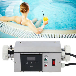 2KW Waterproof Pool Heater Temperature Controller Digital Thermostat For Swim FS