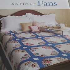 """Antique Fans"" Quilt Pattern From Magazine"