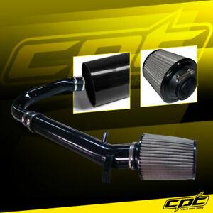 For 11-20 Chrysler 300 3.6L V6 Black Cold Air Intake + Stainless Air Filter
