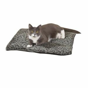 """Meow Town Thermal Cat Mat Bed (22""""x18"""") - Grey"""
