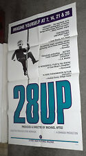 28 UP original 1984 one sheet movie poster MICHAEL APTED