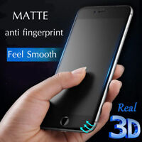9H Matte Anti-glare Tempered Glass Film Screen Protector for iPhone 5 6s 7 8 X +