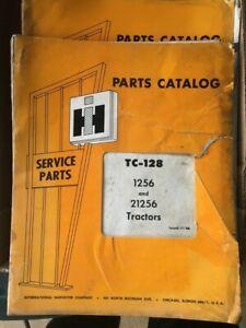 IH International Farmall 1256 21256 Diesel DT407 Tractors Parts Catalog TC-128