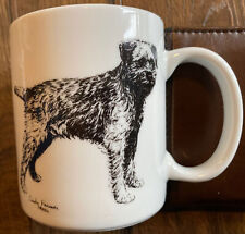 Vintage Cindy Farmer Terrier Coffee Mug 1985