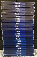 2000-2006 US MINT 50 State Quarters Proof Sets, Various Years (Lot of 22)