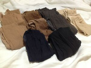 14 Pairs Hanes Silky Sheer Pantyhose Size Large