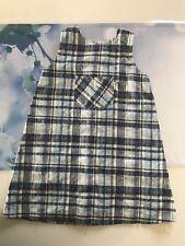 Babykleid Kleid Jako-O Gr. 80/86 blau/ weiß