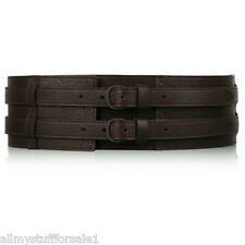 Twenty8Twelve Sienna Miller Brown Leather Wide Belt Twenty 8 Twelve 28 30 New M