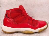 Nike Air Jordan 11 XI Retro BG GS Youth Win Like 96 Gym Red 378038-623 Size 5Y