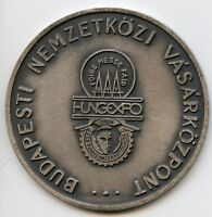 Budapest Hungary Expo Hungexpo trade fair 1978 Medal