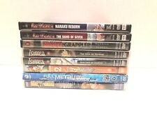 Lot Of 8 Anime Dvd Movies And Tv Seasons Inuyasha Baki Full Metal Tsubasa Tested