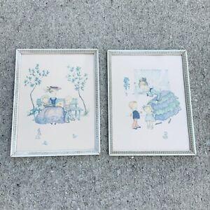 Vintage A Lambert Children Animals Nursery Prints 9x12 USA Whimsical Retro