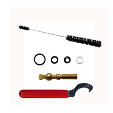 Draft Beer Faucet Repair Kit Wrench Fix Brass Knob O-Rings Washers Homebrew