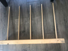 Handmade Puppet Stand For 5 Puppets