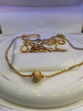 Classy Dubai Handmade Kette Halskette Necklace In Fein Zertifiziert 22K Gelbgold