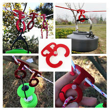 Multifunction Outdoor Camping Tent Wind Rope Buckle Tent Lamp Hanging Buckle