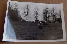 Photograph Social History Horse & Rider jumping A log Fence Show jumping 1960's