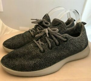 All Birds Speckled Gray Black Wool Runners Comfort Shoes Men's Size 11
