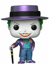 Preorder Funko Pop Batman 1989 The Joker Hat Metallic Gamestop Exclusive figure