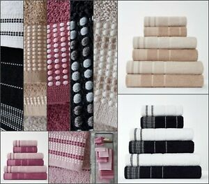 LUXURY NEW Egyptian Cotton 600 G S M DALBY Hand Bath Towel Super Soft Absorbent