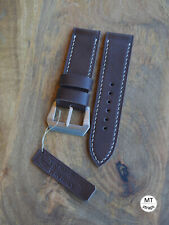 26mm Cinturino artigianale  mtstraps Handmade Italy Leather Watch Strap Band