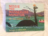 Ted Hughes - Nessie The Mannerless Monster - 1972 Faber in Original Jacket