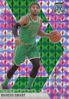 2019-20 Panini Mosaic Pink Camo Prizm Marcus Smart #109 Boston Celtics