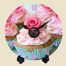 BELLISSIMA tazza torta Quarzo CD CLOCK regalo Baking CUCINA MUM Nanny Auntie