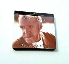 JOE COCKER The Simple Things CD1 PACK (1994 CDCLS 722) 3 Track CD in Digipack