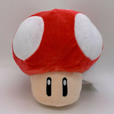 Super Mario Bros. Red Super Mushroom Plush Doll Soft Toy Teddy 8""