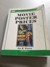 Movie Poster Prices 5th Edition Jon R. Warren 2002 Reference Value Guide Book